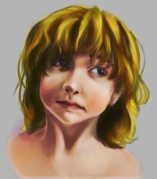 Facial Study 002 - color by JABtheAnimator