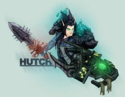 Hutch the Paladin by Nortiker