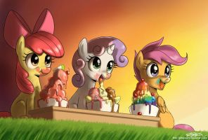 Never Too Much Ice Cream by johnjoseco