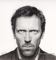 Hugh Laurie -House by michellebrown