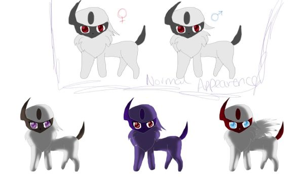 Obsal [Fake absol evolution] Adopts .::OPEN::. by StarryAdopts