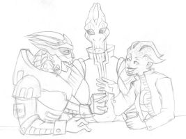 Mass Effect Mush: The Threshers by lacuna-purify