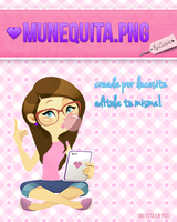 Munequita PNG new by LucesitaEditions