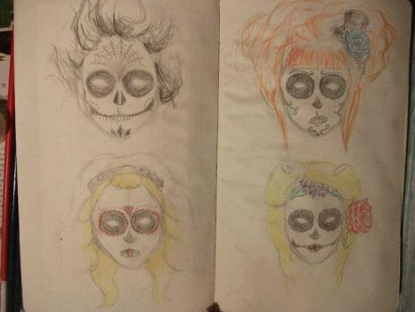 day of the dead by Shelley-whereARTthou