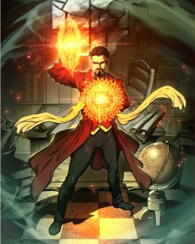 Doctor Strange by GENZOMAN