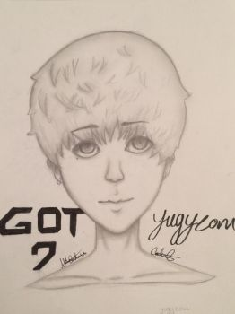 GOT7 (yugyeom) by AKACarebear