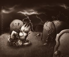 Back from the grave by MY-B0Y
