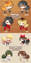 Double-Sided Clear Acrylic Charms by h-yde