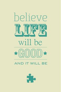 Believe Life - iPhone Wallpaper by amplified27
