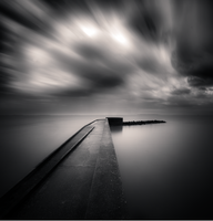 Dark Pier by DenisOlivier