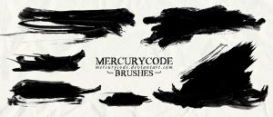 Brushset 08: paint strokes [HIGH RES] by mercurycode