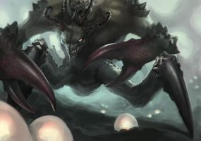 Creature WiP 2 by Fetsch