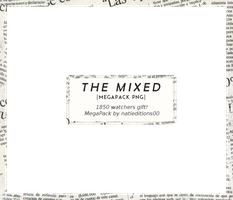 + The Mixed |Megapack PNG||1850 watchers| by natieditions00
