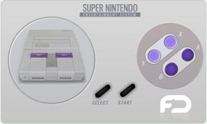 SNES Icon by FusionIce