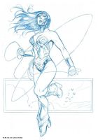 wonder woman sketch 2 by deemonproductions