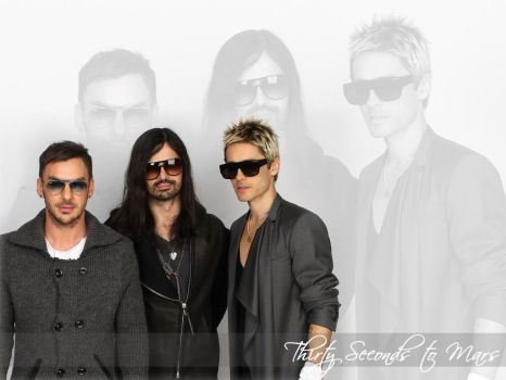 30 Seconds to Mars Wall 295 by martiansoldier