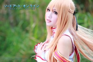 Asuna in Sword Art Online (close up) by multipack223