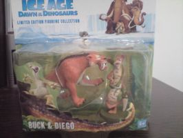 Buck and diego figures by cartoonprincessML