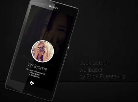 Lock Screen photo style Dark by vieri7