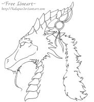 Ancient - Free Lineart by Kalupus