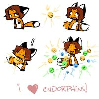 I HEART ENDORPHINS by amberfoxwing