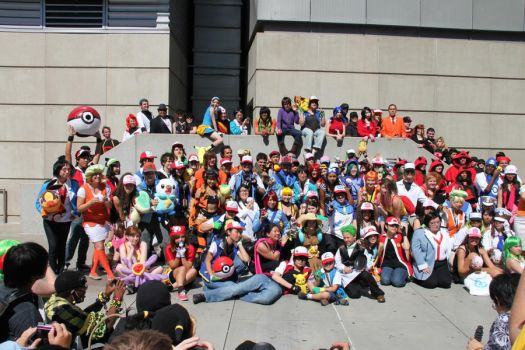 Pokemon Gathering AX 2011 by Smell-you-later