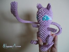 3D Origami - Mew by Jobe3DO
