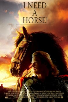 Thor Horse by sonLUC