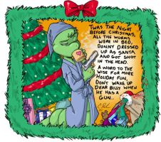 Merry Christmas love, Billy by Candy-Janney