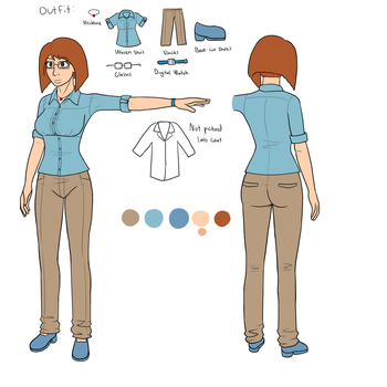 Cherie 2015 Reference Sheet by vidgamer123