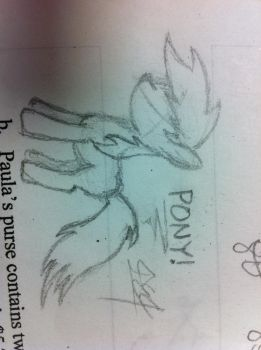 Another sketch during math by Sethdrax