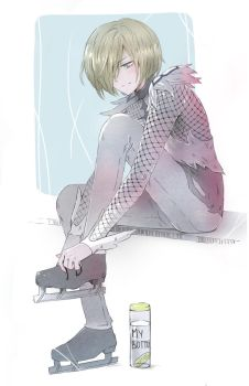 yuri plisetsky by AnALIBI