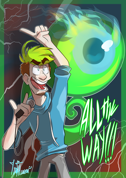 ALL THE WAY!!! by IvaTheHuman