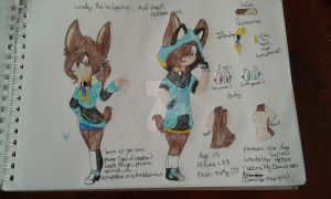 winelys the hedgehog ref sheet october 2016 by Winelys11