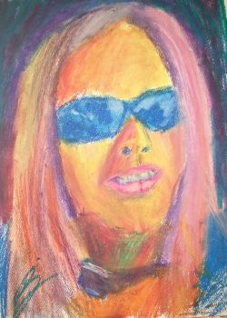 Itiches - Oil pastels by neveza