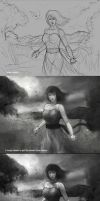 some works with steps by kerko