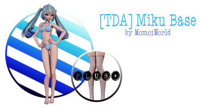 [DOWNLOAD] TDA Miku Base by MomoiWorld by MomoiWorld