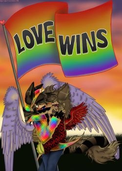 Love Wins by Mario-Wolfe