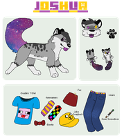 .:Joshua Klepacs Reference Sheet:. by qalaxybutt