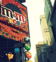 Times Square NYC by mUsIcFrEaK92