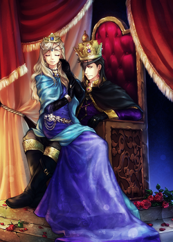 AS: The King and his Queen by Kay-I