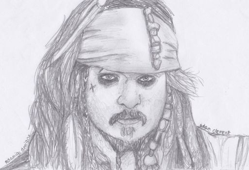 Captain Jack Sparrow by addajocl15