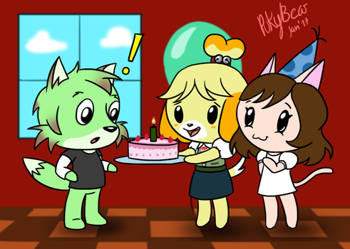 Surprise Birthday by PukyBear