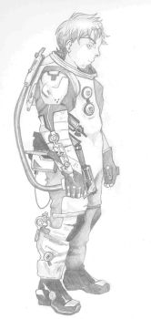 Spacesuit Concept by BeckyDeVendra