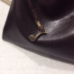 Detail: Strider Leather Pipe-weed Pouch by AsliBayrak