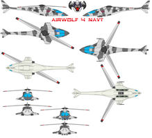 airwolf 4 NAVY by bagera3005