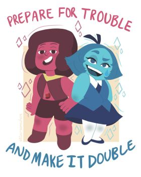 Double Trouble by sitton-somewhere