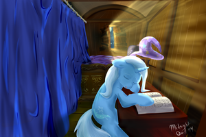 The Great and Studious Trixie by MidnightQuill