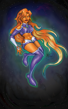 Just another Starfire by Cristina37