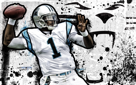 cam newton wallpaper 8 by jb-online